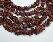 """Ruby Rough Beads 1. Strands 16""""  Stone Size 13X5 To 5X2 MM Approx 100% Natural Finest AAA Quality  Wholesale Price"""