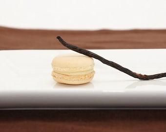 Vanilla Bean Macarons - one dozen