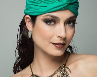 Emerald Turban (Multi-functional)