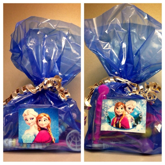 Items Similar To 15 Pre Filled Disney Frozen Party Favor