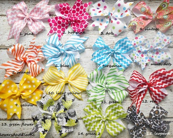 "Bow Baby Clip, 5"" ,Baby clip, Bow"