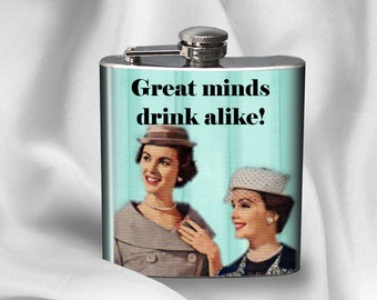 Funny Hip Flask - Birthday Gift - Gift