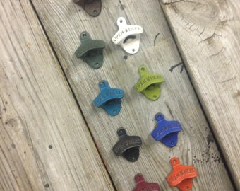 Colored Cast Iron Bottle Opener