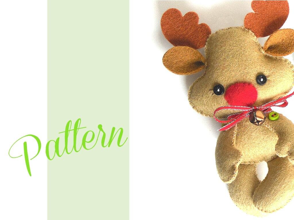 Reindeer christmas ornaments -  Zoom