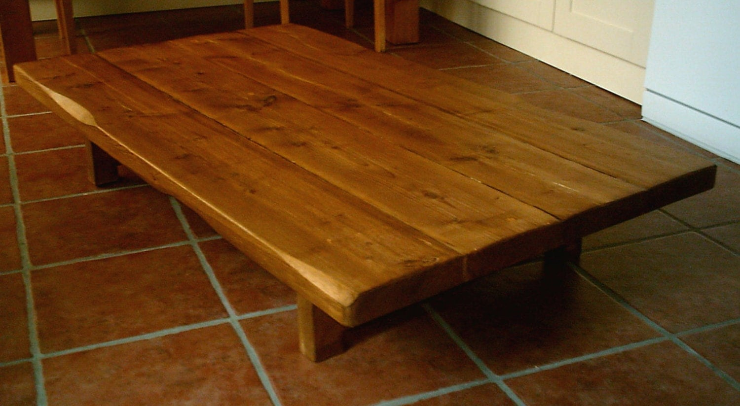 Hand Made Rustic Coffee Table Low Design 030