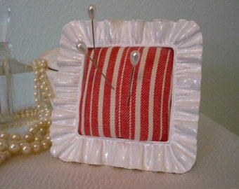 Candy Striped Pin Cushion