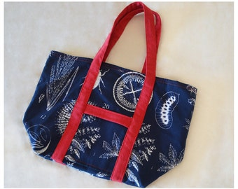 Foldable shopper bag