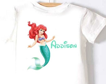 Ariel DIY Iron-on Printable