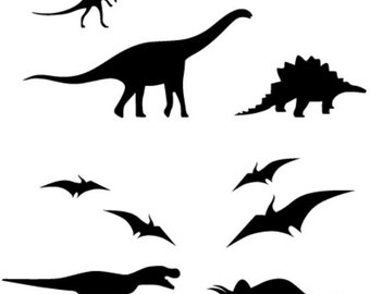 dinosaurs set  vinyl decal/sticker