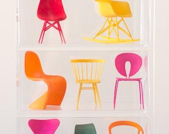 Designer Chair Miniature Collection - No.1