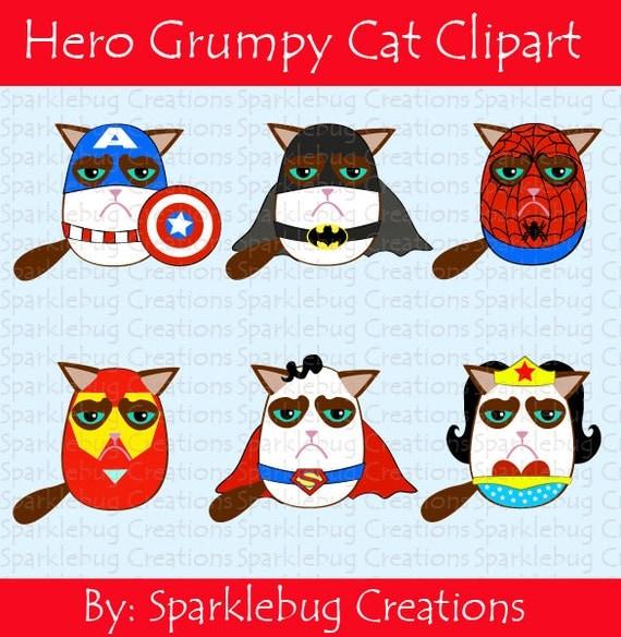 clipart grumpy cat - photo #16