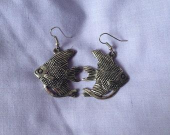 Koi indian style earrings