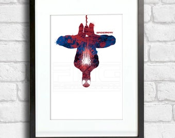 Spiderman - Splatter Art
