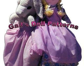 Mary and Her Lamb Topsy Turvy Doll Pattern