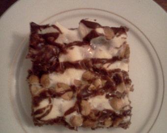 Homemade Rocky Road Brownies!