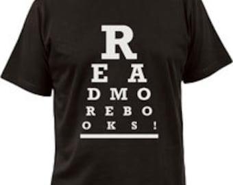 T-shirt - Read More Books