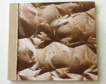 Handbound Brown & Tan Album / Scrapbook