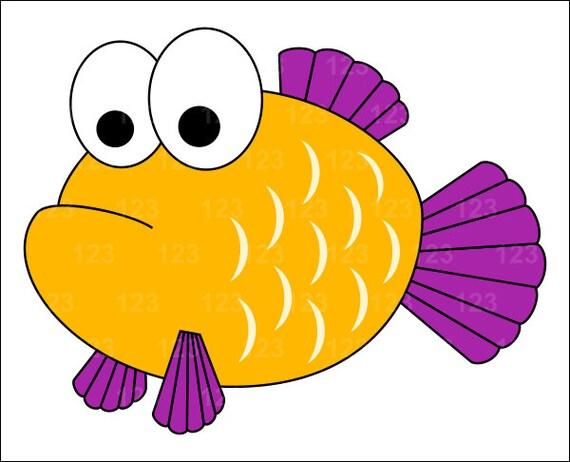 Ähnliche Artikel wie Gelbe süße Fische Single Digital ...