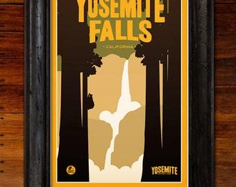 Yosemite National Park: Yosemite Falls Poster