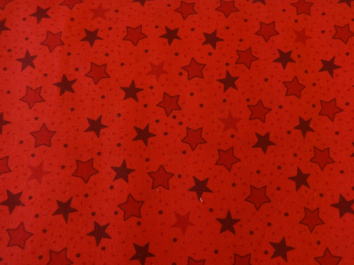 Red w red stars fabric 327 from divinesfabricnook on etsy for Star fabric australia
