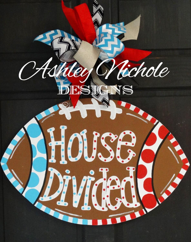 divided house football