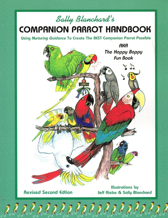 Sally Blanchard's Companion Parrot Handbook - Autographed - New