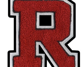 High School or Varsity letters custom made to your color specifications