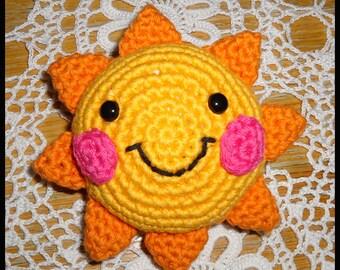 Crochet Rainbow Mobile