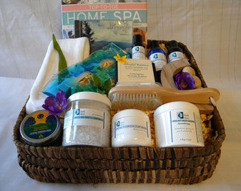 Relax & Renew Spa Gift Basket