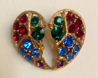 JEWELRY SALE: Lisner Vintage Clip On Earrings