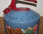 Sugar and Spice Refurbished Teakettle