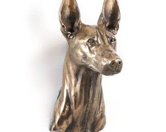 Pharaoh Hound, dog hanging statue, limited edition, ArtDog