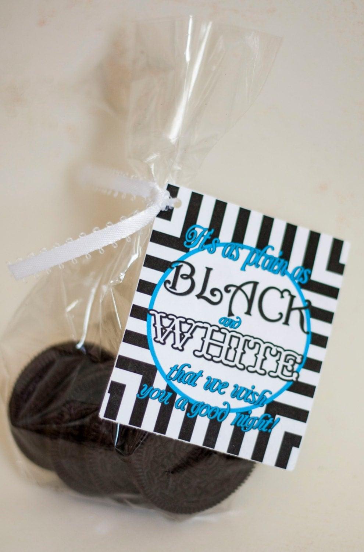 Cute Pillow Treats : Girls Camp Pillow Treat Handout Oreo Cookies