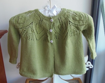 PDF Patons Knitting Pattern #363, 3Ply, Three Matinee Coats up to 9 months