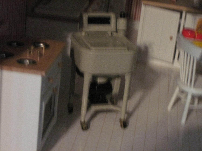 fashioned washer machine