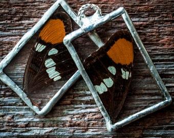 Butterfly Wing Windowpane Pendant