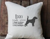 Items Similar To Personalized American Beagle Dog Name