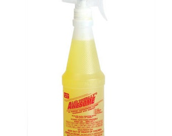 LA's Totally AWESOME All Purpose CLEANER, Concentrated 20 fl oz Spot Remover 4B1D E