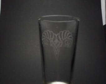 Skyrim-Inspired Markarth Thane Etched Pint Glass