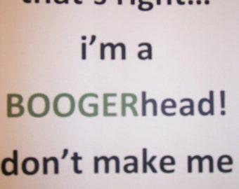 Boogerhead Picking Sides T shirt
