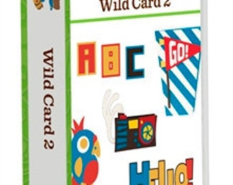Cricut Cartridge, Wild Card 2