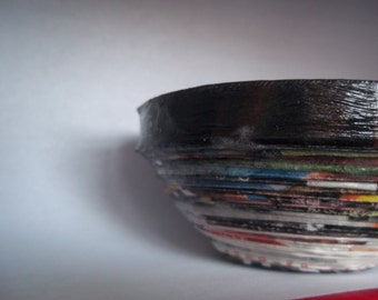 Small Magazine Coiled Bowl