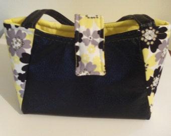 Black/Yellow Handbag