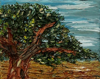 Swingletree, Oil Painting on Deep Edge Canvas (Wall Art, Impressionistic, Home Decor, Original Painting, Impesto)