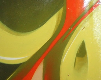 Contemporary European art abstract oil painting