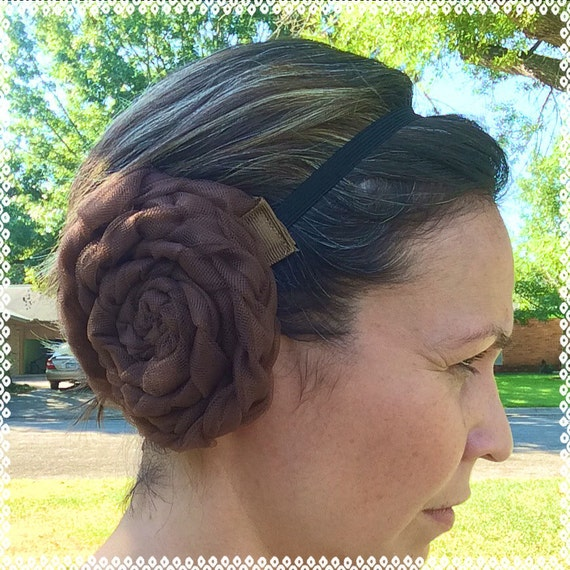 how to make princess leia buns with short hair