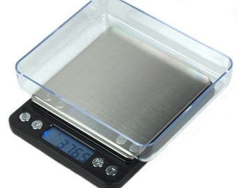 500g x 0.01g Digital Scale ACCT-500 0.01g Precision Counting Scale with Trays