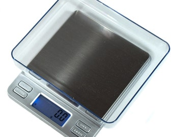 2000g x 0.1g  Digital Jewelry Scale Horizon TPS-2000 Coin Hobby Food Scale