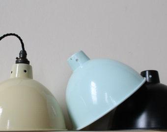 Vintage industrial lighting pendant light FREE POSTAGE