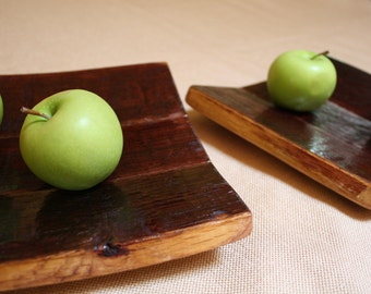Wine Stave Bowl / Plate